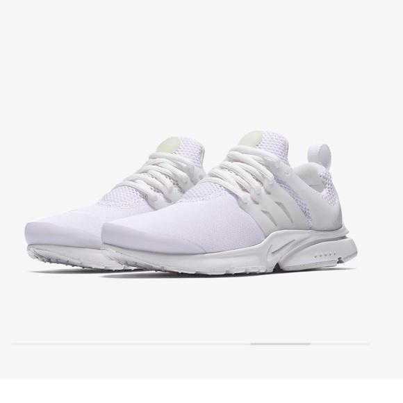 Nike Shoes | All White Presto Sneakers | Poshmark